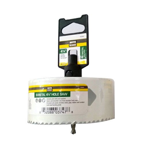Standard Plumbing Supply 703464 DISSTON COMPANY Bi Hole Saw (1 Piece), 4-1/4
