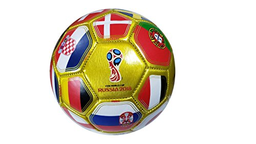 FIFA Official Russia 2018 World Cup Official Licensed Size 2 Ball 01-4 by FIFA