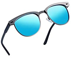 TAC POLARIZED LENS- 100% UV400 protection coating, blocks 100% harmful UVA,UVB& UVC Rays. Restore vivid color, eliminate reflected light and scattered light and protect eyes perfectly. TAC lens includes 8 layers. The 1st layer is polariza...
