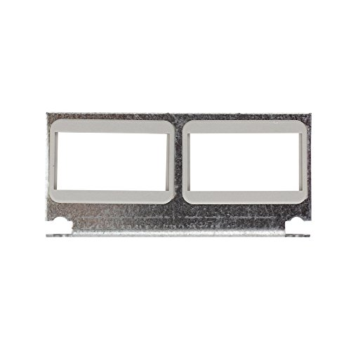 Wiremold Legrand CILT-2AB Cast Iron Bracket with two 2A Mini Bezels