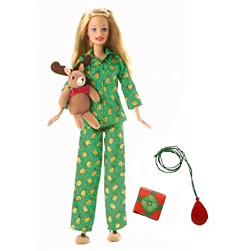 Amazon 2006 Target Exclusive Christmas Morning Barbie Doll Toys Games