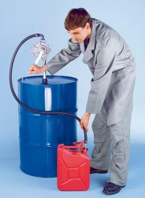 Drehkolbenpumpe - für selbstschmierende Flüssigkeiten auf Mineralölbasis Fördermenge 0,25 l/Umdrehung - Behälterpumpe Behälterpumpen Drehkolben-Pumpen Drehkolbenpumpe Drehkolbenpumpen Fasspumpe Fasspumpen Handkolbenpumpe Handkolbenpumpen Handpumpe