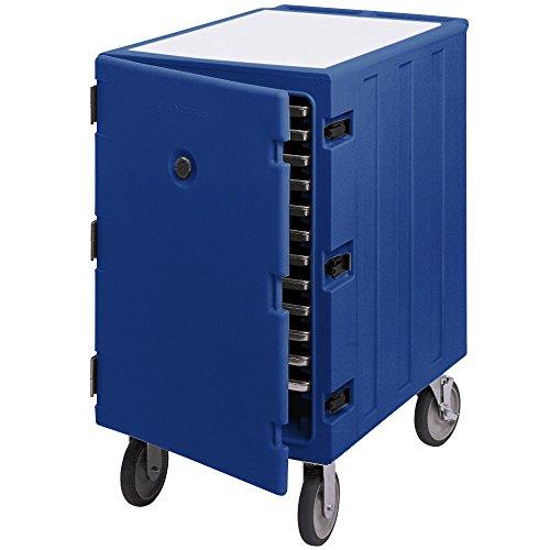Cambro Camcart 1826LTC186 Navy Blue Mobile Cart for 18