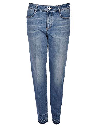Stella McCartney Femme 391883SKH034110 Bleu Coton Jeans