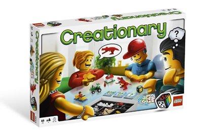 Lego Creationary Game  3844