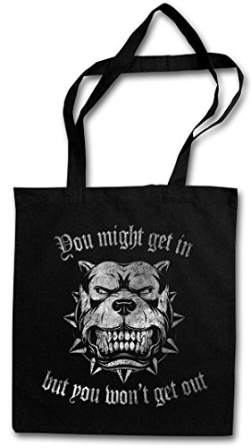 YOU MIGHT GET IN … Hipster Bag Beutel Stofftasche Einkaufstasche