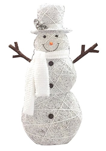 Celebrations 50511-71 Snowman Led Yard Art, Wood/fabric, 48