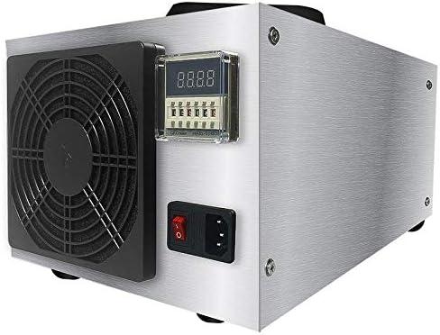 JINRU El Ozono Mobile Professional Comercial Generador con Temporizador, Ozono Purificador De Aire para El Hogar, Oficina, Humo, Coches Y Mascotas: Amazon.es: Hogar