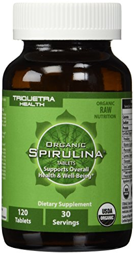 Organic Spirulina Tablets Purest & Highest Quality Source of Organic Spirulina - 4 Organic Certifications Certified Organic by USDA Ecocert Naturland & OCIA  Natures Ultimate Green Superfood  Improves Health of Entire Body
