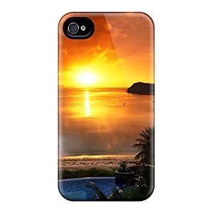 Slim Fit Tpu Protector Shock Absorbent Bumper Beautiful View 2 Cases For Iphone 6plus
