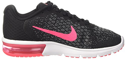 discount big discount NIKE Women's Air Max Sequent 2 Running Shoe Black/Racer Pink/Anthracite/Cool Grey clearance deals buy cheap visit DR9Lazu