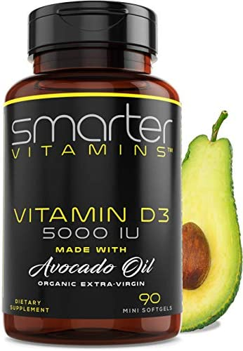 Vitamin D3 5000 IU Certified product image