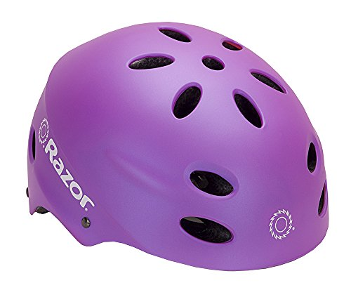 Razor V-17 Youth Muli-Sport Helmet, Purple Review