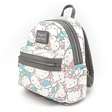 1d5fbd816 Loungefly x Hello Kitty Pastel Mini Faux Leather Backpack (One Size,  Multi): Amazon.ca: Luggage & Bags