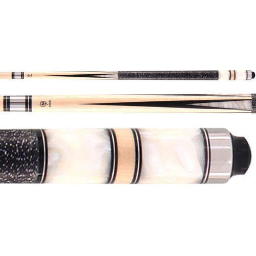 McDermott S25 Star White Pearl Pool Billiards Cue ()