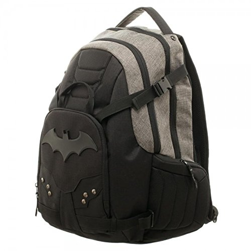 Official Batman Black Tactical Better Built Laptop Backpack Bag