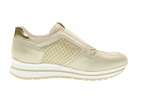 Nero Giardini - Zapatillas de Piel para mujer savana