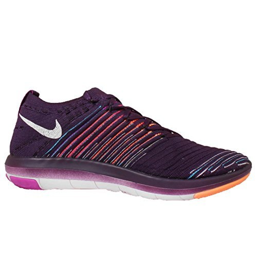 Nike Women's Wms Free Transform Flyknit, GRAND PURPLE/WHITE-HYPER VIOLET-TOTAL CRIMSON, 8 M US by NIKE (Image #3)
