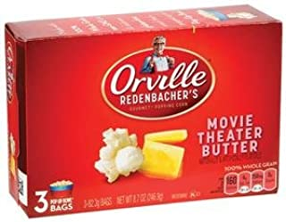 product image for ORVILLE REDENBACHER'S POPCORN MOVIE THEATER BUTTER 3 PER BOX