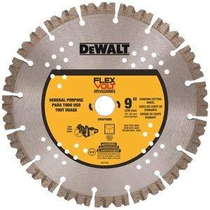 DEWALT 9in. FLEXVOLT Diamond Cutting Wh - Saw Cut Off Circular Blade
