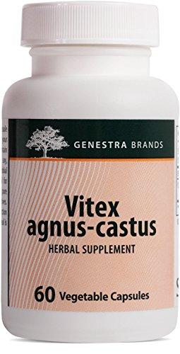 Genestra Brands - Vitex Agnus-castus - Herbal Supplement Helps Relieve Common Minor Premenstrual Symptoms* - 60 Capsules