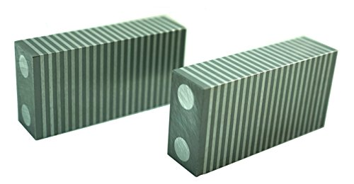 "HHIP 3402-0009 Magnetic Parallel 2 Piece Set, 4"" x 2"" x 1"""