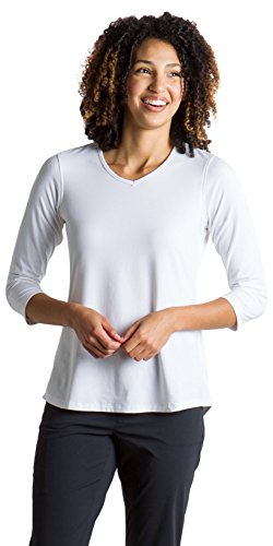 - ExOfficio Women's Wanderlux Casual 3/4 Sleeve Shirt