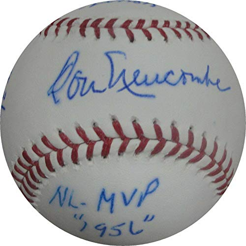 Don Newcombe Autographed Baseball - Stat Cy Young MVP - JSA Certified - Autographed Baseballs