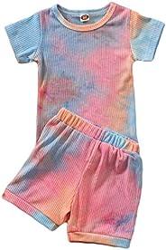 Boys Outfits Short Sleeve/Sleeveless Tee Shorts 2pcs Set Toddler Boys Summer Casual Clothes