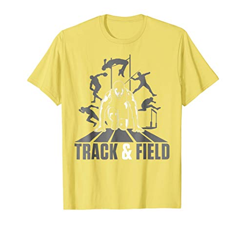 - Cute Track And Field Athletics T-Shirt For Boys And Girls