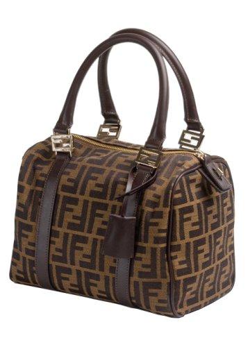 a954a89192 Fendi 8BL068 Mini Duffle Bag-Zucchini Gold Print  Amazon.ca  Clothing    Accessories