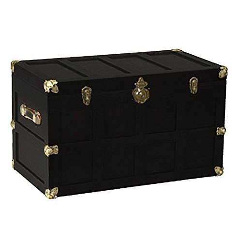 Children's Wooden Chest - Black - Amish Made in USA