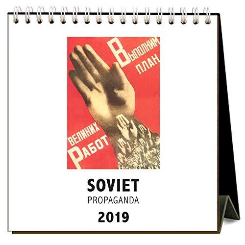 Soviet Press - 2019 Soviet Propaganda 2019 Easel Desk Calendar, by Found Image Press