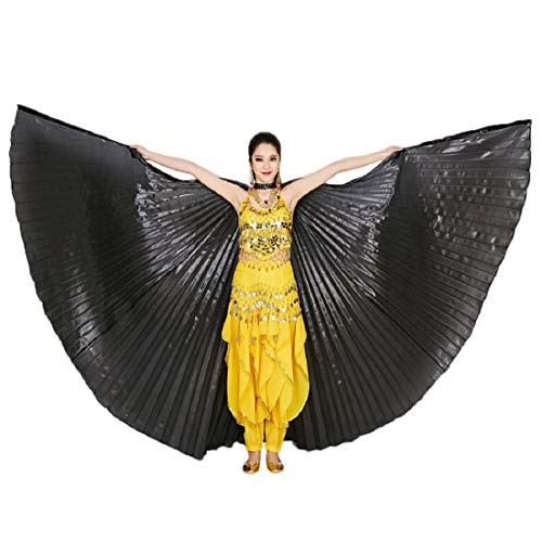 Yeefant Egypt Belly Wings Dancing Costume Belly Dance Accessories No Sticks Performance Clothing -