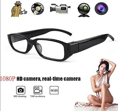 - HOT SALE! Mini HD Spy Camera Glasses 1080P Hidden Eyeglass Sunglasses Cam Eyewear DV DVR