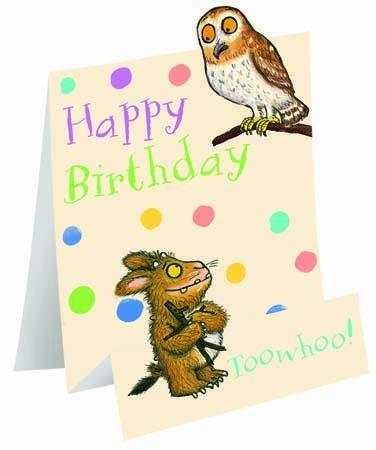 Amazon Woodmansterne Pop Up Gruffalos Child Owl Card