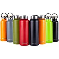 KANGFUTE Water Bottle 18/8 Stainless Steel, Insulated...