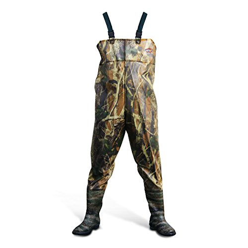 Azuki boot foot chest waders waterproof fishing hunting for Fishing waders amazon