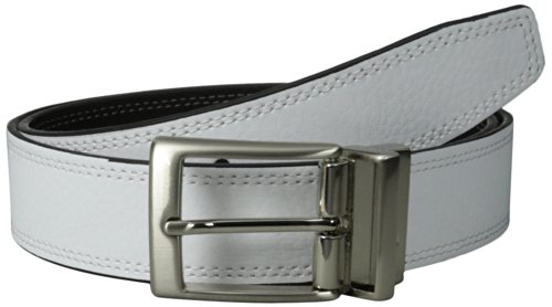 Nike Men's Classic Reversible Belt, Black/White, 32