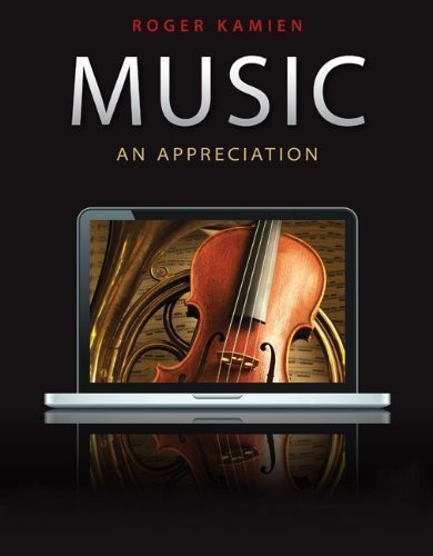 Music: An Appreciation 10th (tenth) Edition by Kamien, Roger published by McGraw-Hill Humanities/Social Sciences/Languages (2010) by McGraw-Hill Humanities/Social Sciences/Languages