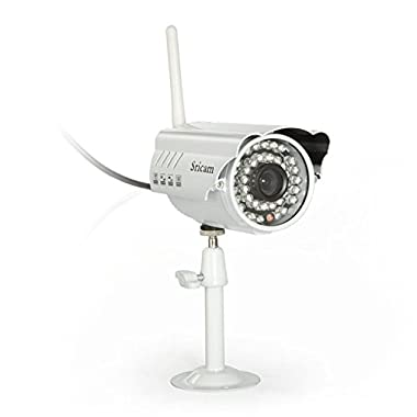 Alytimes Sricam Metal Gun Type Waterproof Outdoor Bullet WIFI IP Camera