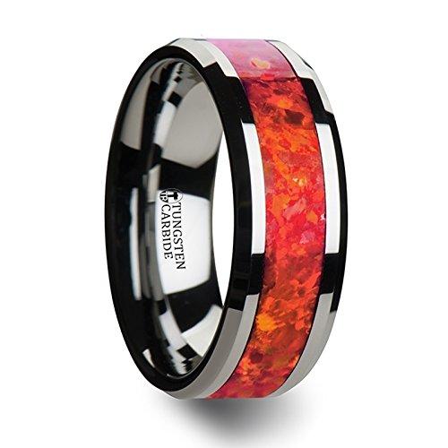 NEBULA Tungsten Wedding Beveled Edges product image