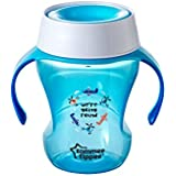 Tommee Tippee Trainer 360 Cup, Mealtime, BPA-Free, 7+ Months,  8 Ounce, 1 Count (Colors May Vary)