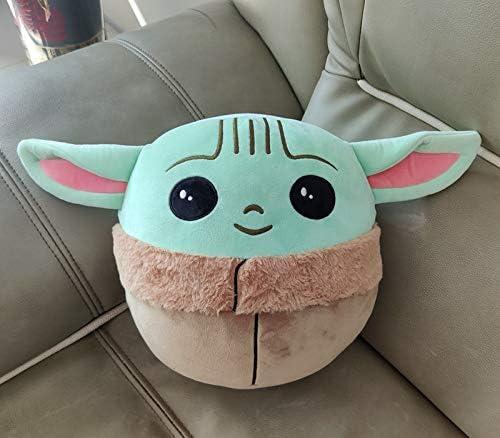 Beautsoful Squishmallows Plush Stuffed Toy Baby Yoda The Child Pillow Gift 10//26cm