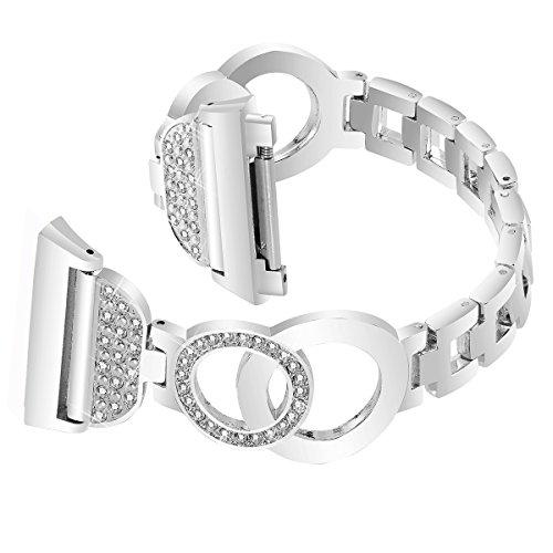 Nigaee Samsung Gear S3 Bands, Metal Bracelet Samsung Gear S3 Frontier Bands/Samsung Gear S3 Classic Band/Moto 360 2nd Gen 46mm Band/Pebble Time/Pebble E Band, shouzuo SIV