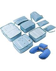 Conjunto de Organizadores de Embalaje de Equipaje, Organizadores de Equipaje- Cubos de Embalaje de Compresión para Viajar