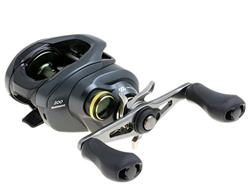 Shimano Curado K, Lowprofile Baitcasting Freshwater Fishing Reel, 200k, High Gear