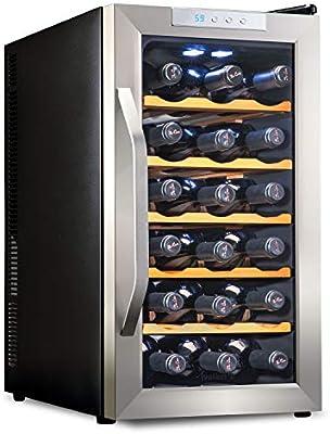 Amazon.com: Ivation 18 botella termoeléctrica enfriador de ...