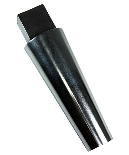Tapered Oval Steel Bracelet Mandrel with Tang Tapers 2 5/8