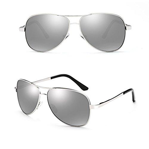 de Driving 2 de Mirror Masculinas 2 Color Estilo Driver DT Polarizing Sol Gafas Sol Gafas Nuevo SPHWT0
